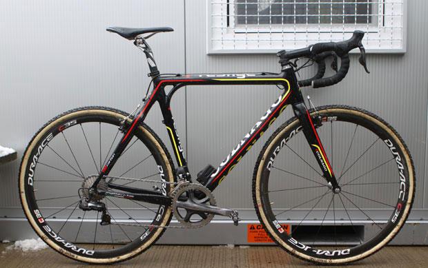 Sven NYS (BEL) Colnago Marka Cyclocross Bisikleti