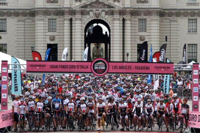 Gran Fondo Giro d'Italia Start Alanı