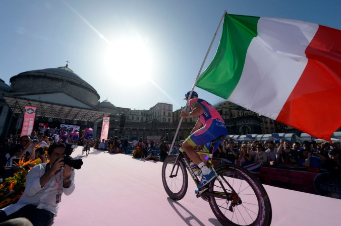 Giro d'Italia Takım Tanıtımları - Michele Scarponi (Lampre)