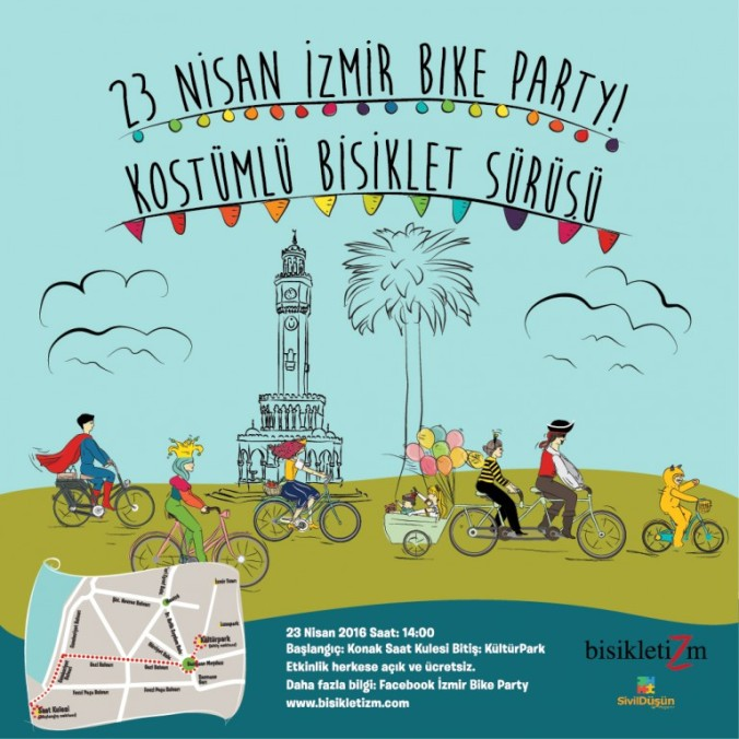 23-nisan-izmir-bike-party