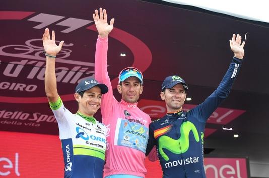 Esteban Chaves - Vincenzo Nibali - Alejandro Valverde