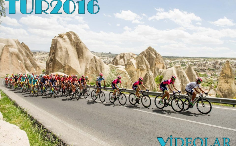 Türkiye Bisiklet Turu'nda Tüm Etaplar(Video)